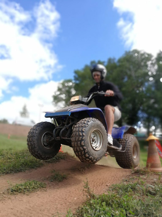 quad circuit quad rodez parc loisir combelles